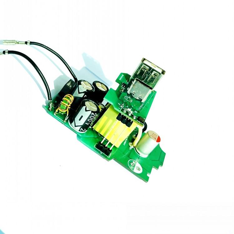 Бързо зарядно 65W Pcba Асамблея USB A USB C 18w 20W 30W 45W Зарядно за мобилен телефон PCB PCBA